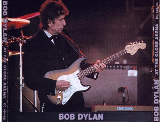 Bob Dylan in Stockholm 1998 - Bootlegcover