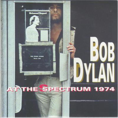 Bob Dylan in Philadelphia 1974 - Bootlegcover