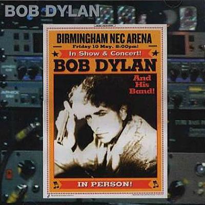 Bob Dylan in Birmingham 2002 - Bootlegcover