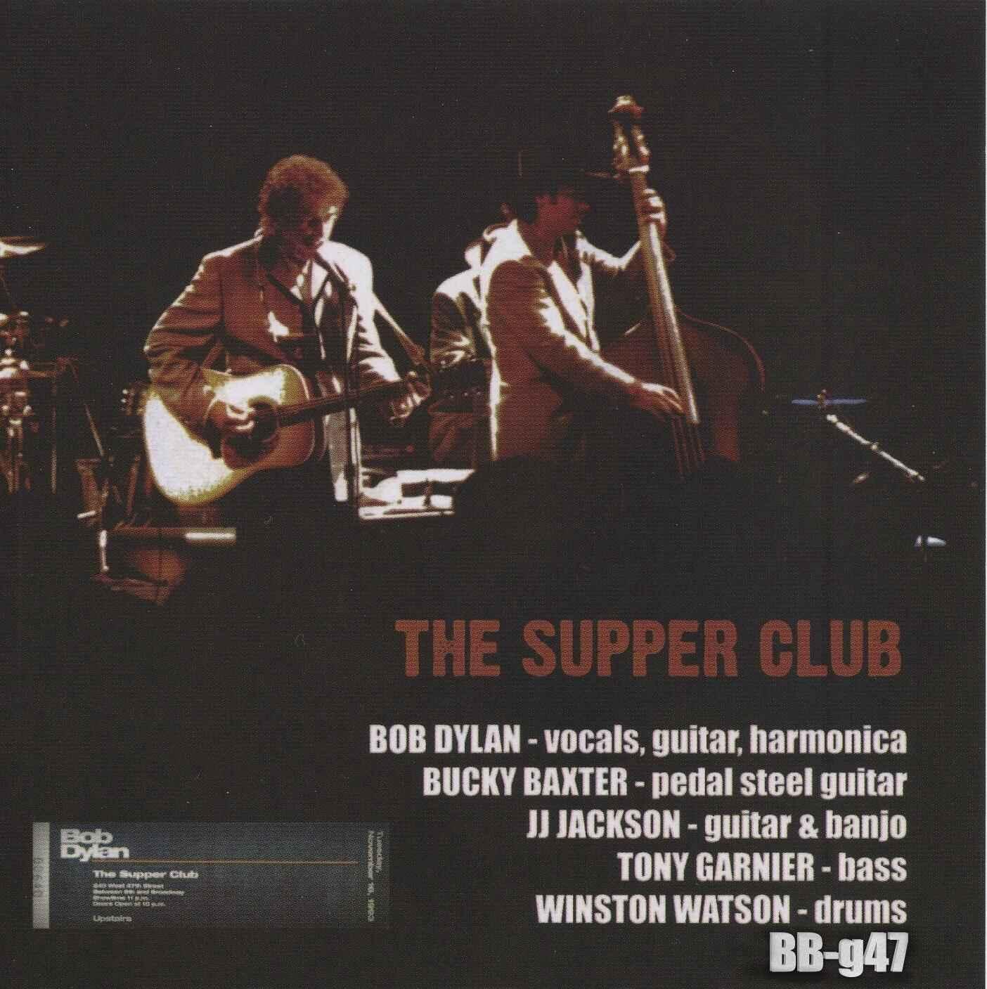 Genuine Supper Club Soundboards 11 17 2nd Bobsboots