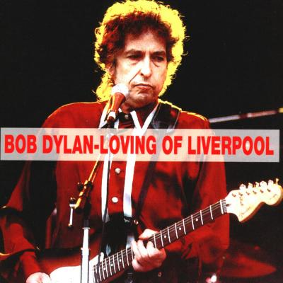 Bob Dylan in Liverpool 26. 06. 1996 - Bootlegcover