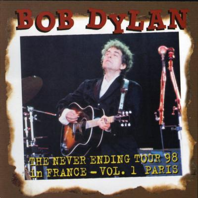 Bob Dylan in Paris 1998 - Bootlegcover