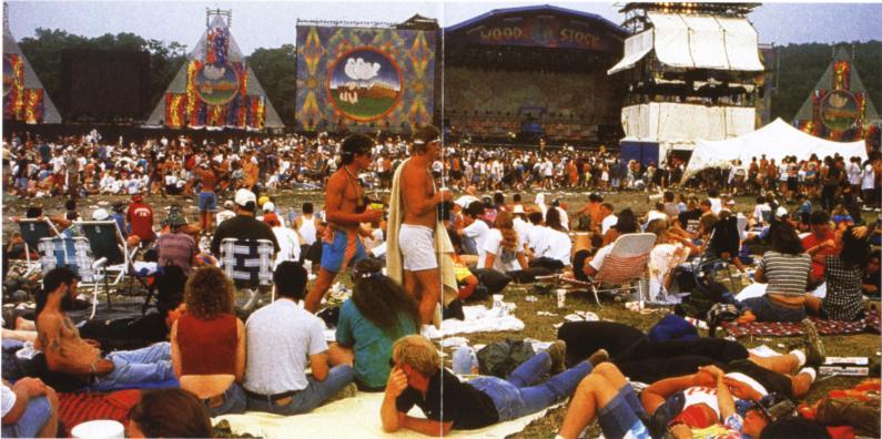 Woodstock '94 (Living Legends) - CD - Bootleg - BobsBoots